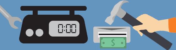 Весы, детекторы и счетчики банкнот